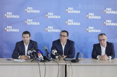 Partidul fostului premier Victor Ponta şi al fostului vicepremier Daniel Constantin are acte în regulă şi aşteaptă adepţii din Bihor