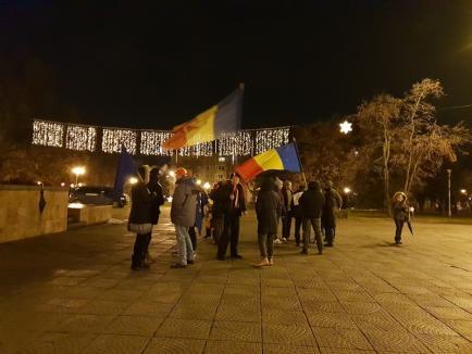 Comemorarea Revoluţiei, la Oradea: Noţiunea de 'penal' va fi desfiinţată, dar s-ar putea ca noi, cei care protestăm, să devenim vinovaţi! (FOTO / VIDEO)
