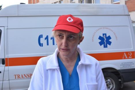 Grevă de avertisment: Angajaţii Spitalului Judeţean au oprit lucrul pentru două ore (FOTO)