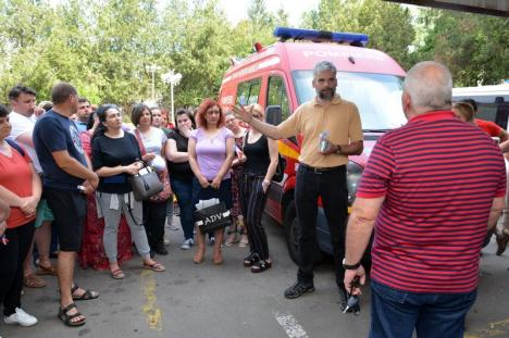 Demisii în bloc la UPU! Angajații UPU SMURD Bihor se solidarizează cu doctorul Borcea (FOTO / VIDEO)