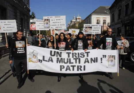 """În numele Patriciei Aktaa: Toţi cei care nu mai vor erori medicale ascunse """"sub preş"""" sunt aşteptaţi, miercuri, la protest"""