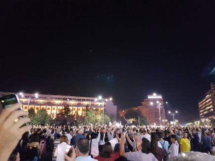 Proteste în Bucureşti şi alte oraşe din ţară împotriva 'politizării justiţiei'