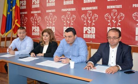 Social-democraţii din CL Oradea: 'Majorările de impozite şi taxe nu sunt din vina Guvernului PSD'