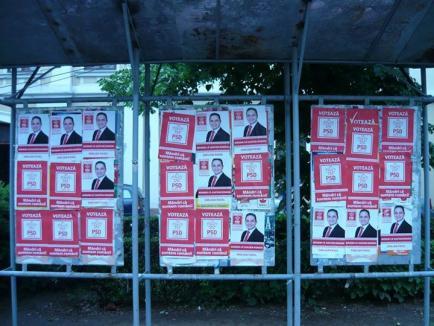 Mang recunoaşte că PSD-iştii au lipit afişe peste cele ale altor partide, însă doar pentru că aşa au făcut şi alţii