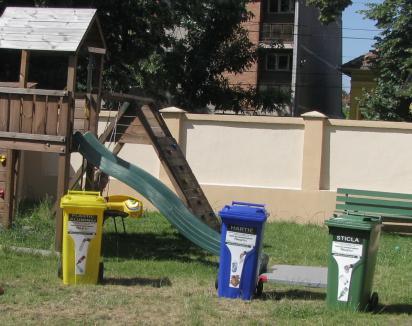 Copiii de grădiniţă au strâns peste 3 tone de deşeuri