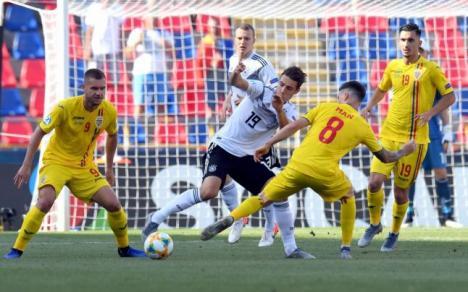 Vis încheiat: România U21 a pierdut semifinala cu Germania. Golurile României au fost înscrise de bihoreanul Puşcaş