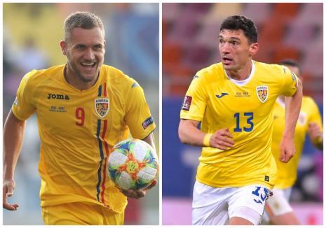 Orădenii Claudiu Keşeru şi George Puşcaş, din nou pe lista selecţionerului Rădoi, pentru meciurile echipei naţionale