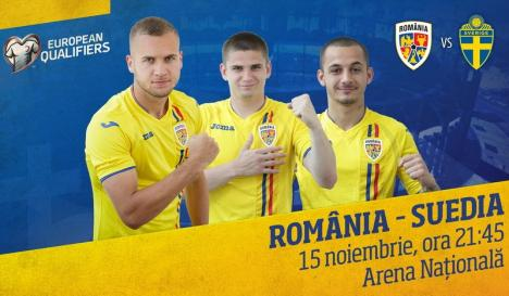 Ziua meciului: România-Suedia, diseară, în preliminariile EURO 2020