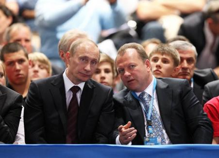 Vladimir Putin, invitatul lui Marius Vizer la Viena (FOTO)