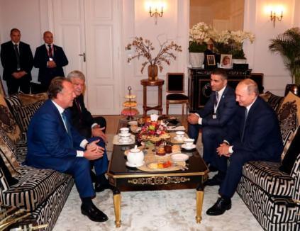 Vizer, vizitat de Putin: Preşedintele Rusiei a mers la sediul Federaţiei Internaţionale de Judo. Vezi ce i-a spus românului (FOTO)