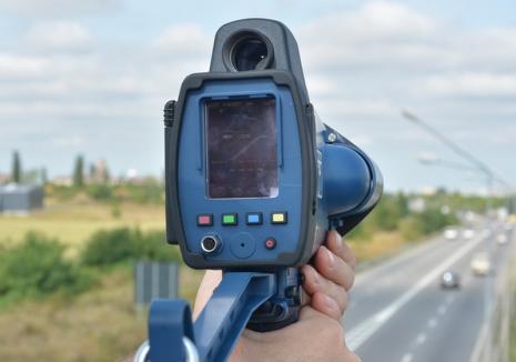 Record de viteză: Un student din Oradea a fost prins conducând un BMW cu 237 km/h pe autostrada A3