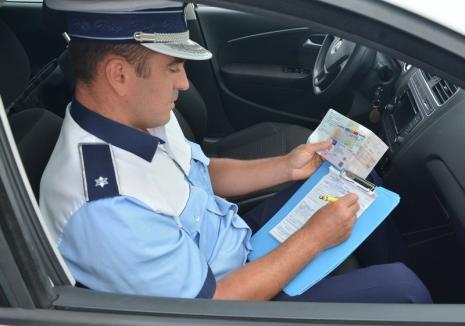 Poliţia Bihor: Dovezile înlocuitoare ale permisului de conducere se prelungesc din oficiu