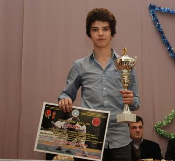 Raul Cherecheş, cel mai bun sportiv al Clubului Shogunul (FOTO)
