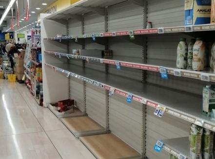 Bihorel: 9 efecte ale golirii supermarketurilor din cauza coronavirusului