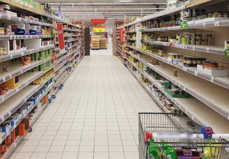 DSVSA Bihor: există stocuri suficiente de produse alimentare în județ!