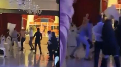 Dezbinaţi de manele: Bătaie cu scaune, la un restaurant din Râmnicu Vâlcea (VIDEO)