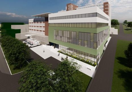 Spitalul Judeţean din Oradea va avea ambulatoriu nou. Investiţia, peste 57 milioane de lei (FOTO)