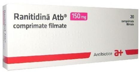Atenție, medicament cu risc cancerigen! Ranitidina, blocată la vânzare în farmaciile din România