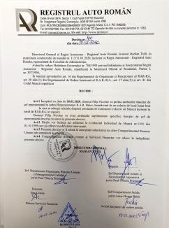 Șef nou la RAR Bihor: Dan Crăciun i-a predat funcţia de director predecesorului său, PNL-istul Nicolae Filip