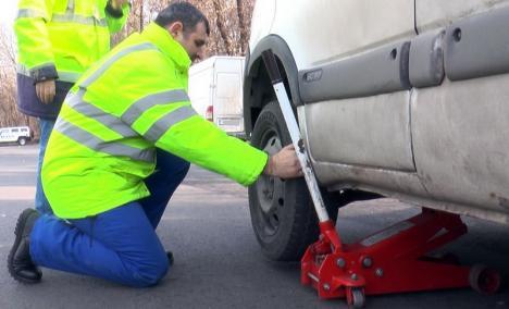 RAR a verificat aproape 2.500 de maşini, pe şoselele din Bihor, anul trecut. Dintre acestea, mai bine de o treime aveau probleme
