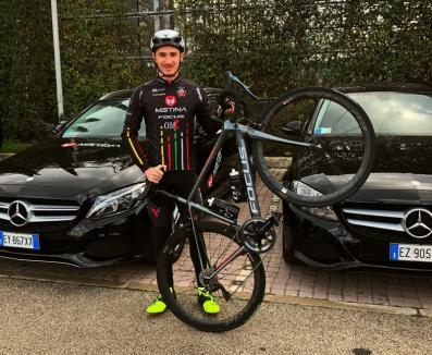 Ciclistul orădean Raul Sînza a semnat cu echipa continentală Mstina Focus (FOTO)