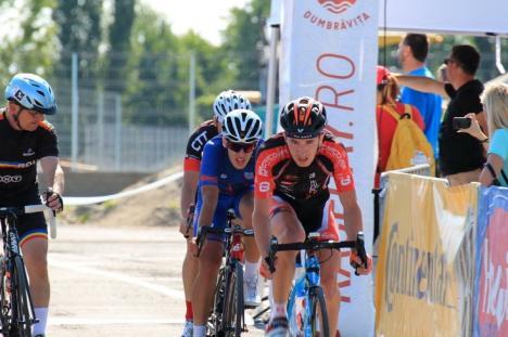 Raul Sînza, vicecampion naţional la ciclism, după ce a pierdut titlul la 'fotografie'