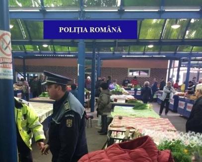 Poliţiştii au descins în pieţe: Carne neetichetată, ţigări nemarcate, petarde şi artificii interzise au fost confiscate