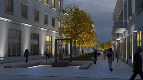 Vă place? Primăria Oradea lansează în dezbatere publică proiectele de reabilitare a malului Crişului Repede şi a străzii Aurel Lazăr (FOTO)
