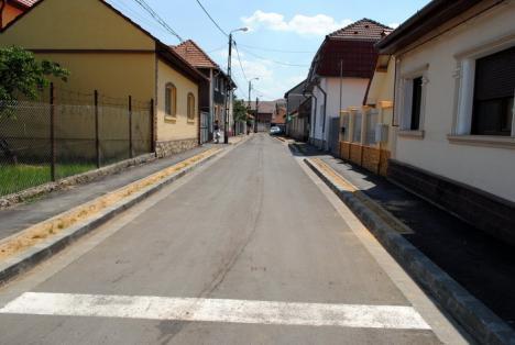 În lucru: Şapte străzi orădene sunt în diferite stadii de modernizare (FOTO)