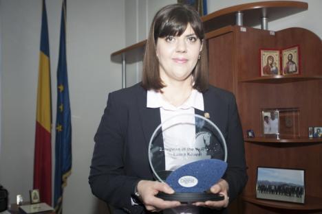 Şefa DNA, Laura Codruţa Kovesi, este Europeanul Anului 2016