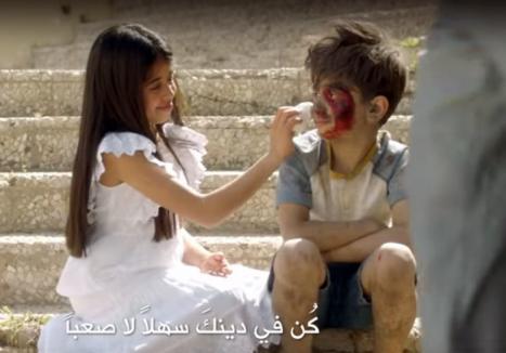 'Să bombardăm ura cu iubire!'. În luna Ramadanului, o reclamă anti-terorism a devenit virală (VIDEO)