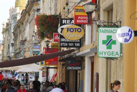 Consiliul Local Oradea a aprobat cel mai restrictiv regulament de publicitate din ţară