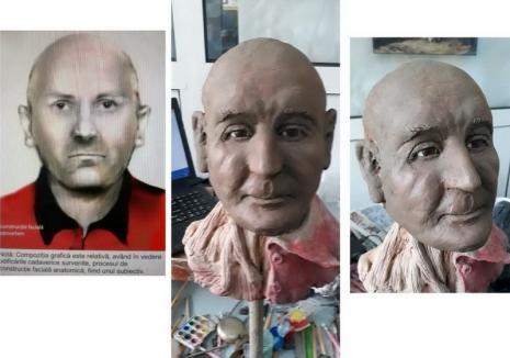 Bărbatul găsit mort în canalul colector e tot neidentificat: Criminaliştii i-au reconstruit chipul cu ajutorul tehnologiei 3D