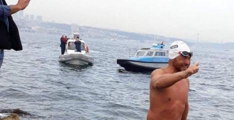 Recordul lui Avram Iancu: a străbătut înot distanţa de la Sulina la Istanbul în 60 de zile!