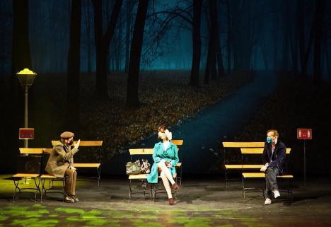 Premieră la Teatrul Regina Maria: 'Preludiu cu fugă', un spectacol de teatru absurd