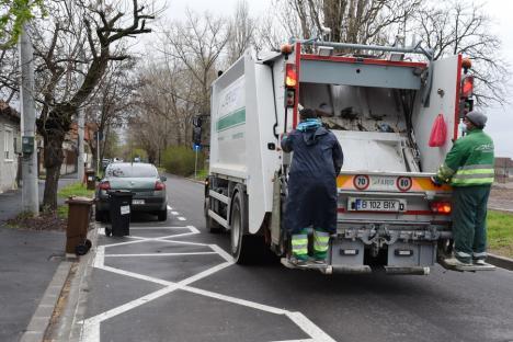 Merge doar cu cip! Din această săptămână, RER Vest va goli doar pubelele noi ale orădenilor, dotate cu microcipuri (FOTO)