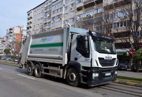 Curăţenie fără mini-vacanţă: De Paşti, RER Vest colectează deşeurile fără întrerupere