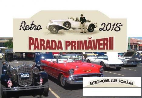 Retroparada primăverii: Expoziţia maşinilor de epocă, în Piaţa Unirii