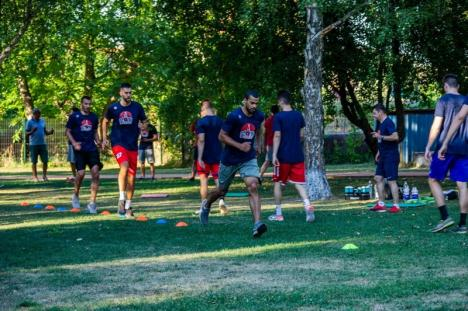 CSM CSU Oradea a început pregătirile pentru noul sezon (FOTO)