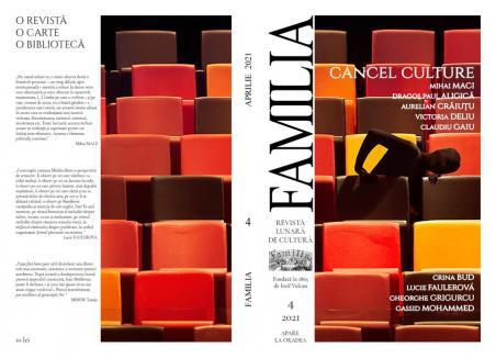 """Numărul 4 al revistei """"Familia"""" – Cancel Culture sau cultura anulării"""