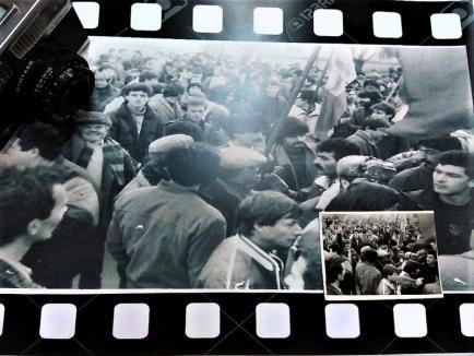 Revoluţia în imagini: Expoziţie cu fotografii făcute la Oradea şi Beiuş în decembrie 1989 (FOTO)