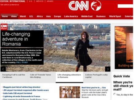 România, prezentată de CNN ca aventura ce îţi schimbă viaţa