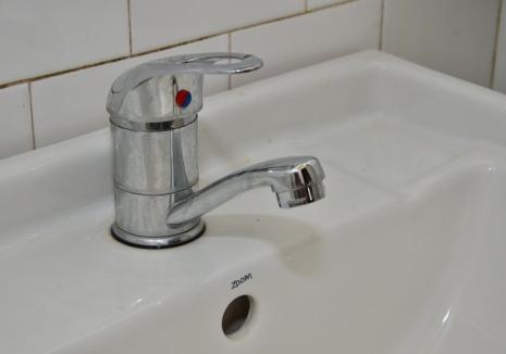 Compania de Apă: Orădenii de pe malul stâng al Crișului rămân fără apă două nopți la rând!