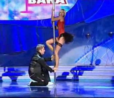 Dana Rogoz, show la bară (VIDEO)