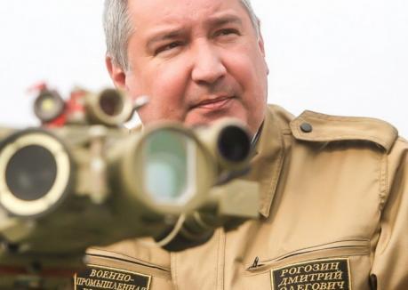 Vicepremierul rus Dmitri Rogozin atacă din nou România: 'Este o marionetă a SUA!'