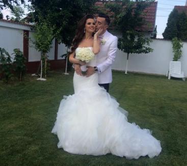 Casă de piatră! Prezentatoarea Romana Fărcaş s-a măritat cu fotbalistul Ioan Hora (FOTO)