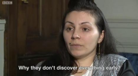 Româncă închisă pe nedrept în Marea Britanie. Tânăra a şi născut după gratii (VIDEO)