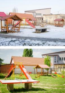 Centrul de zi 'Prietenia' din Popeşti, umplut cu... căni de fericire (FOTO)