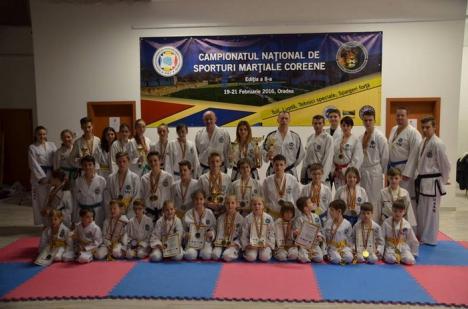 Orădenii au dominat ediţia a II-a a Campionatului Naţional de Sporturi Marţiale Coreene, care s-a desfăşurat la Sala LPS Bihorul