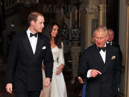 William şi Kate au petrecut până dimineaţa la nunta regală, fără Regina Elisabeta (FOTO)